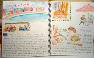 2015 Linda Norton pool sketch