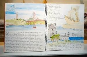 2015 Linda's sketchbook