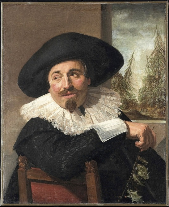 Hals: Portrait of Isaak Abrahamsz. Massa