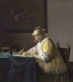 Vermeer: A Lady Writing