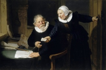 Rembrandt: The Shipbuilder and His Wife