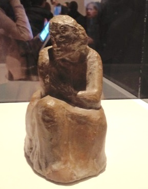 Picasso Seated Woman (1902, clay)