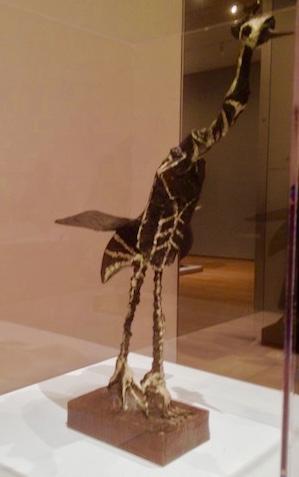 Picasso: Crane (1951-52, Painted Bronze)