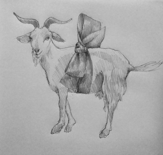 Ellen#1Giving up the goat