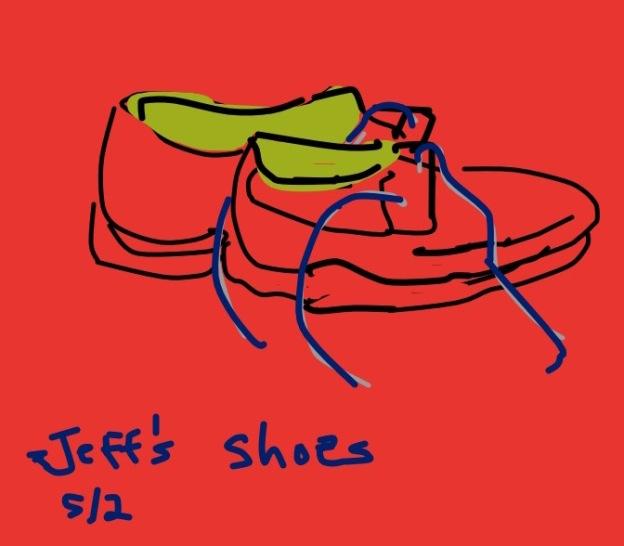 Tara#1Jeff's shoes