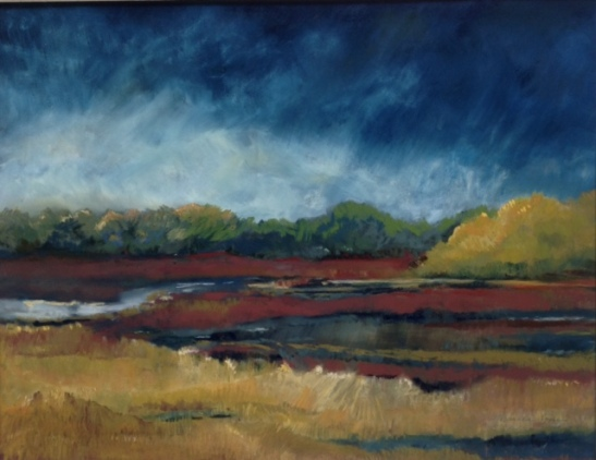 Martha Pope Salt Marsh in Autumn