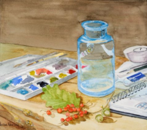 Painterly, watercolor
