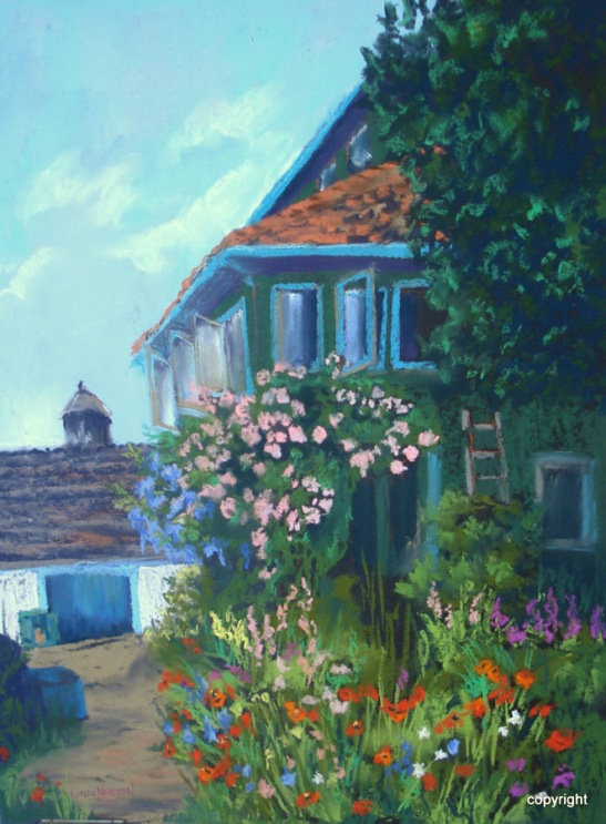 Linda Norton At Giverny