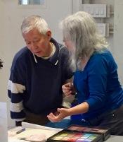 Wan Ho Lee and Eileen Leahy