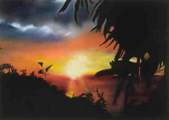 Anne Shields Costa Rican Sunset