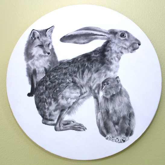 Ellen Cornett Why There Is a Hare in the Moon