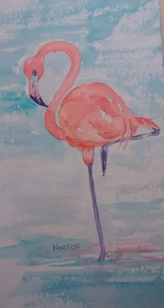 Linda Norton Flamingo
