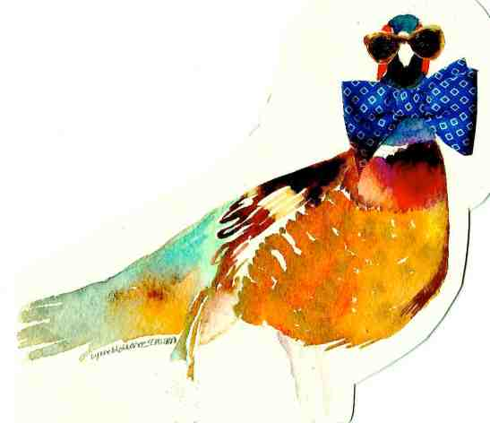 Lynne Schlimm Fancy Pheasant