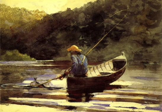 Winslow Homer Boy Fishing