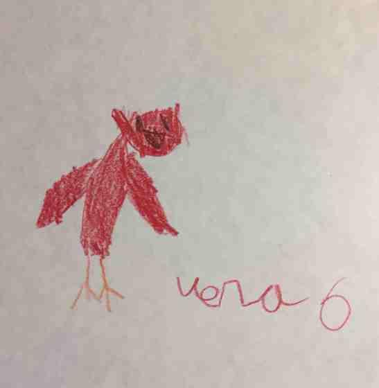 Vera Armstrong age 6 cardinal