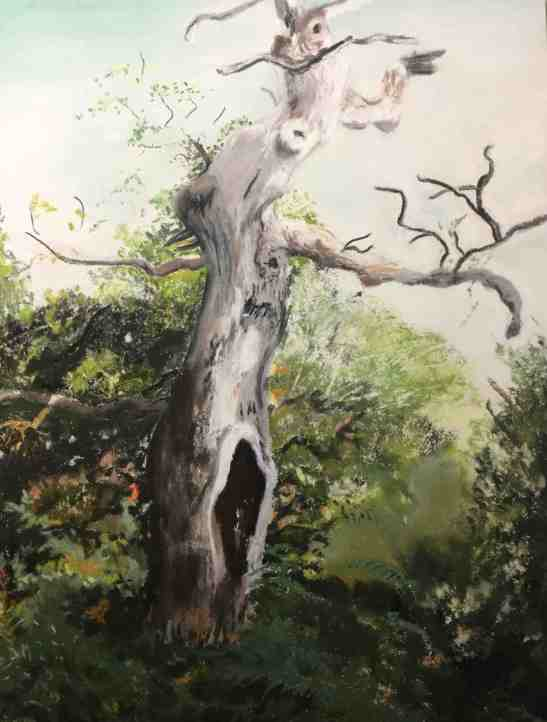 Anne Shields Tree from Middle-Earth Pastel