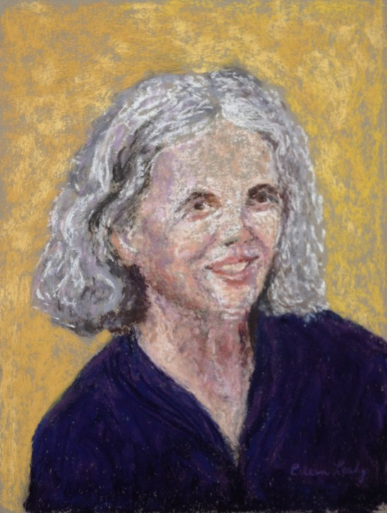 Eileen Leahy SelfPortrait Pastel