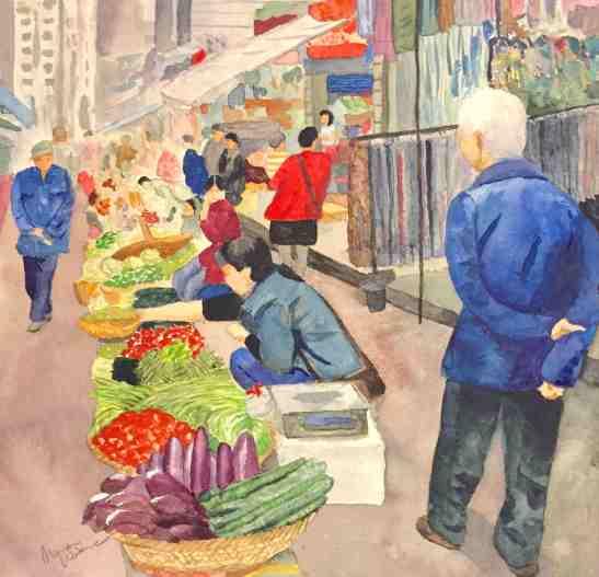 Marian 2015 Xian Market March 5