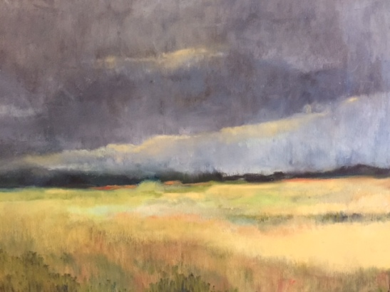 Martha Pope- Storm over the Marsh