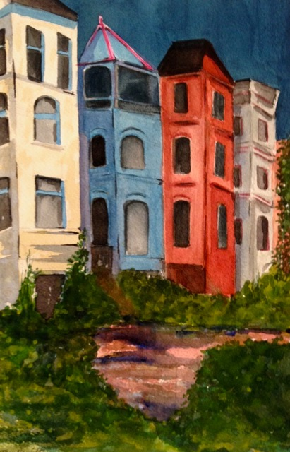 Tara hamilton Hill Homes watercolor