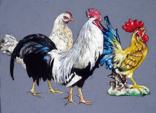 Ellen Cornett Domestic Chickens