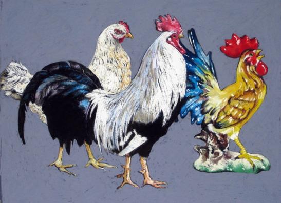 Ellen Cornett Domestic Chickens