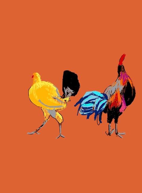 Tara Hamilton Chicken Strut iPad