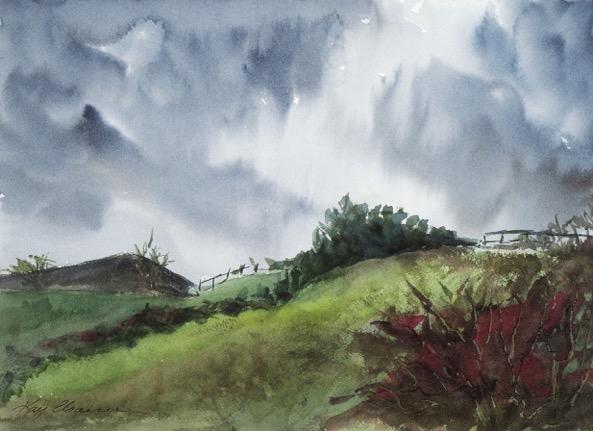 Kay Elsasser Stormy Weather, Sperryville