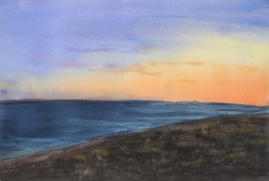 Kay Elsasser Sunset, St. George Island