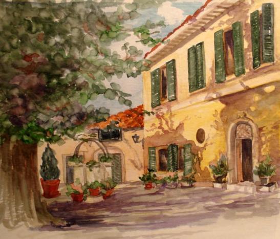 Linda Norton Villa Strega, Siena
