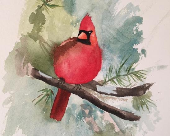 2017 12 Dec Xmas cardinal