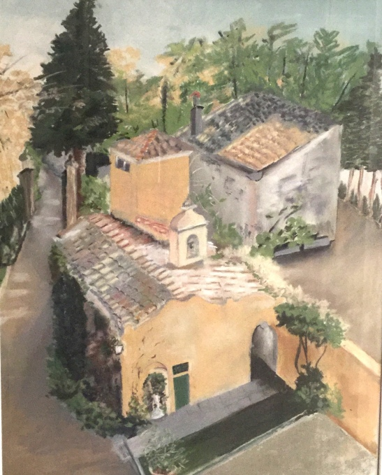 Anne Shields Tuscan Gold Pastel