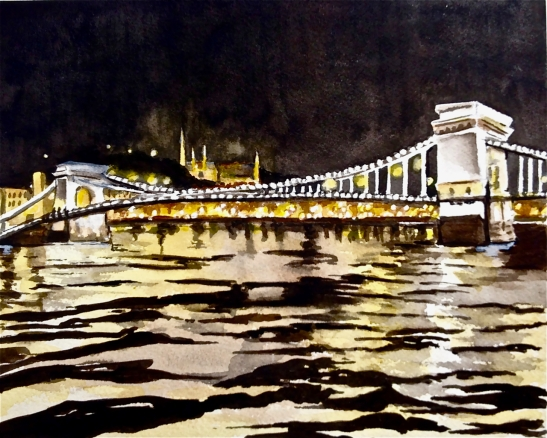 Tara Hamilton: Budapest at Night