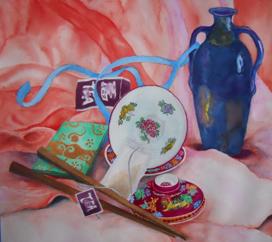 Wan Lee Tea Time 16X16