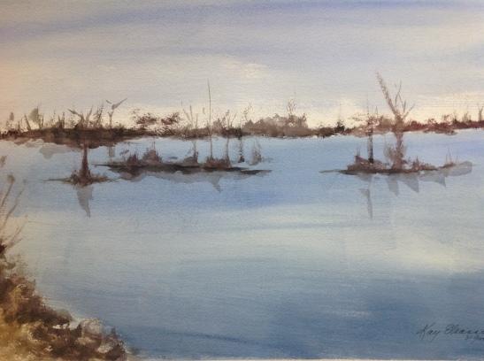Kay Elsasser Lagoon, Venice Louisiana
