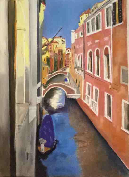 Anne Shields Venetian Canal