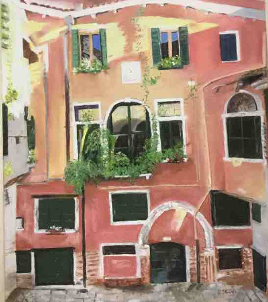 Anne Shields Venice--Room with a View (same as the Old world)