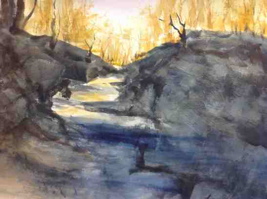 Kay Elsasser The Creek, Late Afternoon