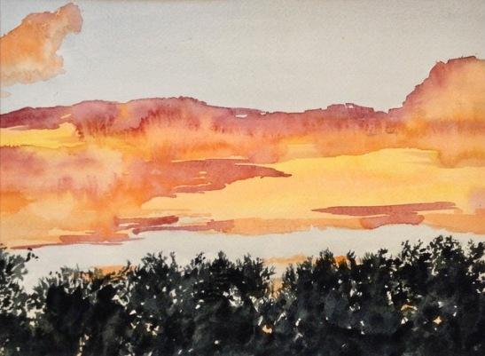 Tara Hamilton Golden Skies
