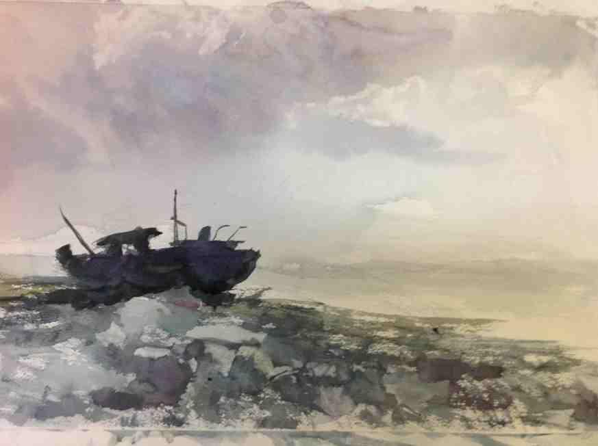 Kay Elsasser Shipwreck Aran Islands, Ireland