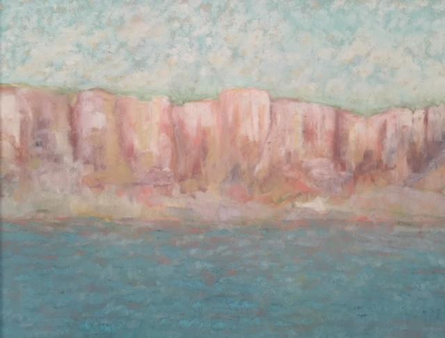 Martha Pope Upper Missouri Pastel on sanded paper