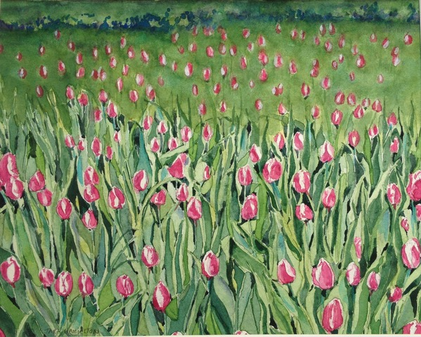 Tara Hamilton A Gathering of Tulips