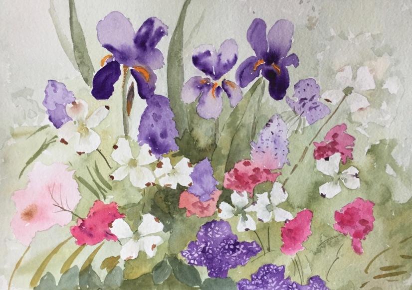 Marian Wiseman 2018 04 Floral Study #1
