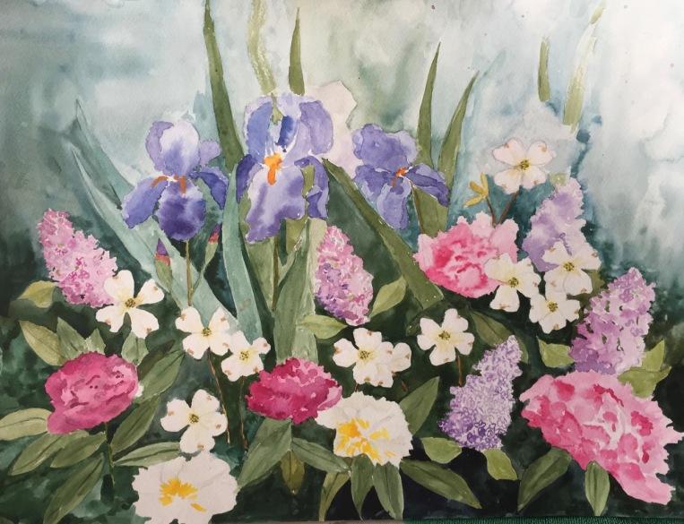 Marian Wiseman 2018 06 Floral study #3