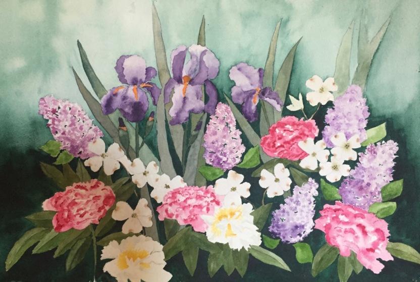 Marian Wiseman 2018 06 Dianne's Spring Blooms (final)