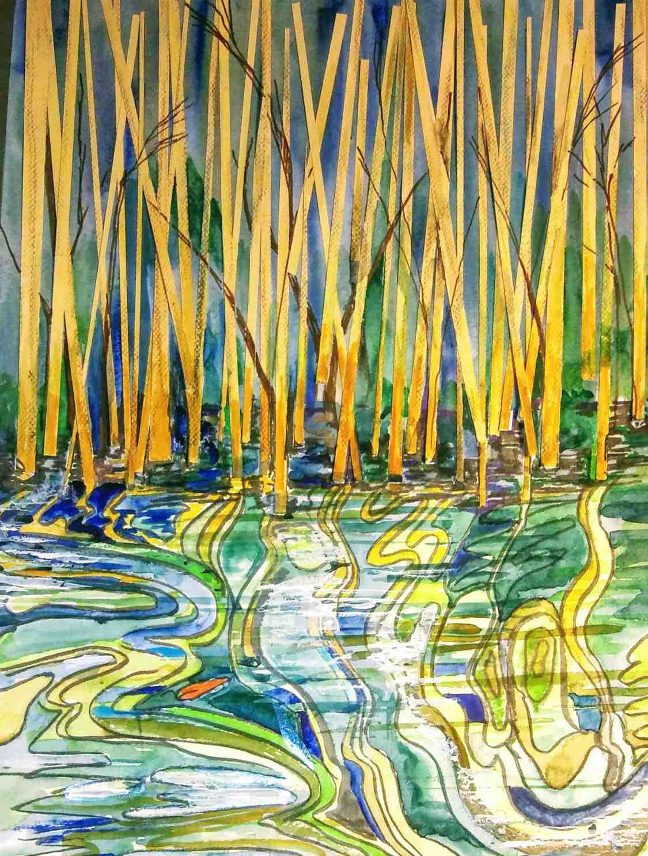 Linda Norton In the Mangrove