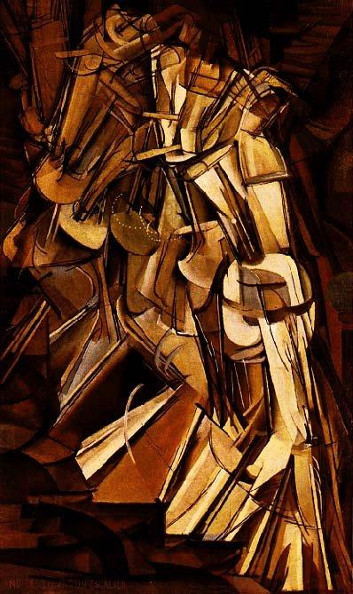 Marcel Duchamp Nude 2