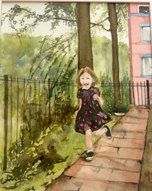 Tara Hamilton Coming Home Watercolor