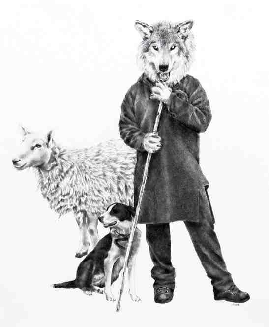 Ellen Cornett Wolf Turned Shepherd