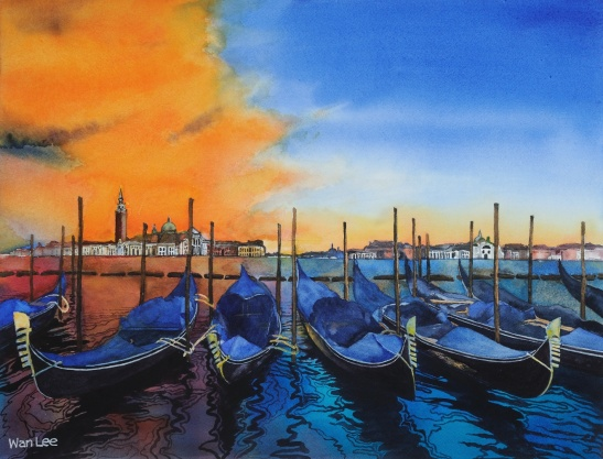 Wan Lee Venetian Sunset